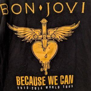 Bon Jovi Band Tour T-SHIRT